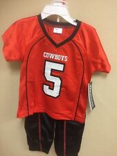 NCAA Oklahoma State University Cowboys Toddler 2 Pc Outfit - NEW!
