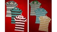 3 NWT Aeropostale womens POLO w/collar button SHIRT junior L Large 8 9 10 11 LOT