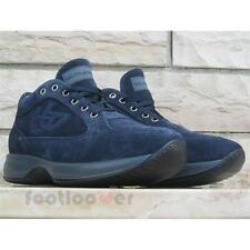 Shoes Blu Byblos 667251 239 Man Suede Navy Removable High Sole Made in Italy
