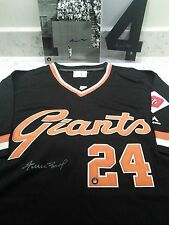Willie Mays Autographed Giants Jersey & 'The Catch' Pic & #4 auto! ay Hey Holo!!