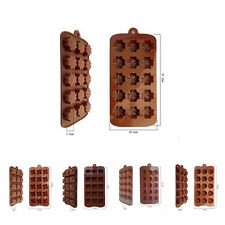 1pcs Chocolat Muffin Cake Cookie Candy Jelly Ice Baking Mold Bakeware Mould Hot