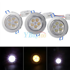 220V 5W LED Ceiling Recessed Downlight Fixture Lamp Bathroom Cabinet Spot Light