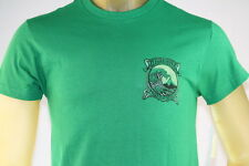 """QUIKSILVER """"TRIP OUT MAN MTO"""" GREEN GRAPHIC T-SHIRT Size Small/Medium/Large"""