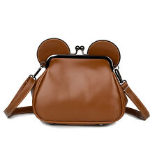 Stylish Mouse Ears Leather Bag Travel Mini Shoulder Casual Backpack Messager Bag