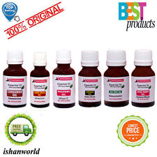 100% PURE & NATURAL ESSENTIAL OILS FROM INDIA (FREE SHIPPING) - 15 ML to 100 ML