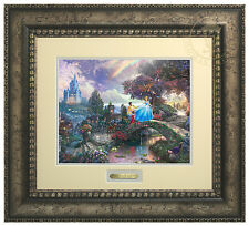 Thomas Kinkade Disney Cinderella Wishes Upon a Dream Prestige Home Collection