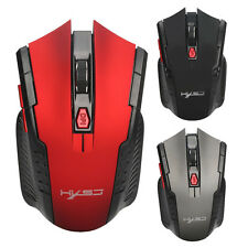 2.4GHz 2400DPI 6 Buttons USB Optical Wireless Gaming Mouse For PC Laptop Gamer