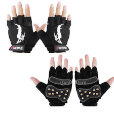 Men's Road Mountain Bicycle Cycling Half Finger Biker Padded Mitts Gloves M-XL