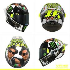 AGV Pista GP-R Blues Brothers Sweet Home Misano Rossi Replica Motorcycle Helmet