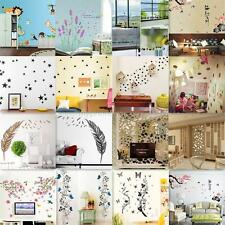 Fashion 3D DIY Various Views Wall Sticker Poster Mural Decals Bedroom Home Decor
