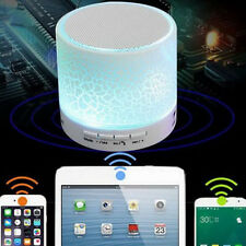 Creative LED MINI Wireless Bluetooth Speaker TF USB Music Sound Subwoofer New