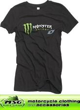 ONE INDUSTRIES MONSTER ENERGY CONFUSION GIRLS/LADIES BLACK T SHIRT TOP - SALE