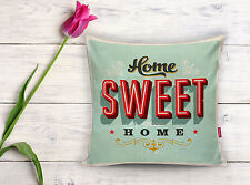 Sweet Home Decorative Pillow, Cushion 17x17 inch, polyester,