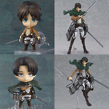 Attack On Titan Eren Jaeger Levi Ackerman Action Figure Toys Figurine collection