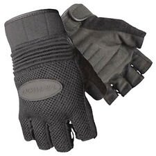 Olympia Sports Men's 757 Air Force Fingerless Gel Motorcycle Gloves