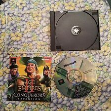 Age Of Empires II 2 The Conquerors Expansion PC CD-ROM Microsoft 2000 Win 95/98