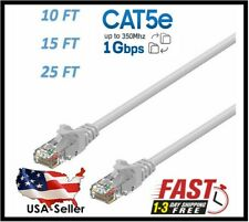 High Speed Ethernet Cable RJ45 Cat 5e Ethernet Patch LAN Network Cable - Grey