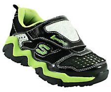 SKECHERS S-LIGHTS LUMINATORS Boys Youth Light-Up Athletic Shoes Sneakers NWT $55