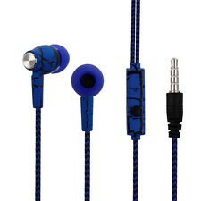 3.5mm Crack Pattern Design Super Bass Stereo Earphones Headset for iPhone MP3 PC