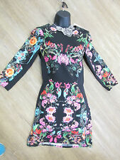 NEW THREE OF SOMETHING ROYALS SAPPHIRE DRESS BLACK MED/SIZE 10