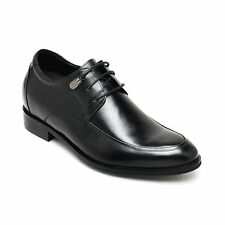 """Height Increasing Shoes 2.76"""" Men Leather Oxford Dress Elevator Shoes CHAMARIPA"""