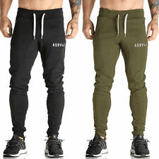 Mens Slim Fit Sports Gym Pants Jogging Running Trousers Tracksuit Sweatpants Hot