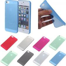 Phone Protector Soft Hard Skin Cover Back Case Clear Matte for Iphone 5s
