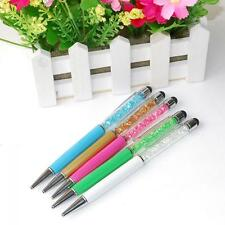Crystal Touch Screen Pen 2in 1 Stylus for For IPhone IPad Ipod Samsung Tablet