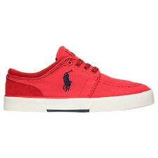 POLO RALPH LAUREN MENS FAXON LOW CASUAL RED SHOES **FREE POST AUSTRALIA