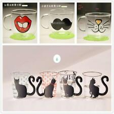 Creative Cute Cat Glass Mug Cup Tea Cup Milk Cup Coffee Cup Borosilicate Glass