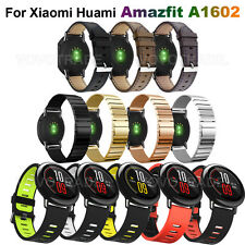 Replacement Leather Watch Bracelet Strap Band For Xiaomi Huami Amazfit A1602