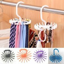 Adjustable Holder Hanger Scarves Rack Tie Hook Closet Organizer