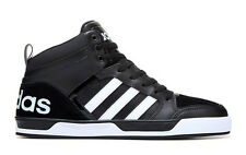 ADIDAS MENS NEO RALEIGH 9TIS HIGH TOP SNEAKER BLACK SHOES **FREE POST AUSTRALIA