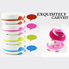 New Portable Automatic Contact Lens Cleaner Washer Electric Cleaning Lenses Case
