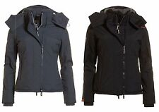 Stylish Womans Superdry Hooded Sherpa Quilted Windcheater Jacket BNWT RRP £79.99