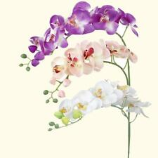 Artificial Simulation Butterfly Orchid Flower Floral Plant Restaurant Decor