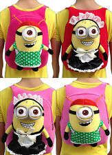 Despicable Me Minion Kids Backpack Bag 3D GIRLS