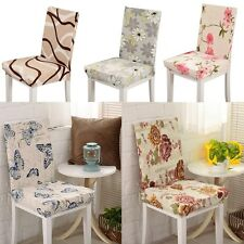 Spandex Stretch Dining Chair Cover Washable Restaurant Banquet Folding Cover
