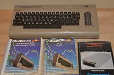 Vintage LOT Commodore 64 Computer UNTESTED programmer's guide, 1541 user guide