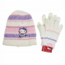 Hello Kitty 2pc Hat + Glove Set Kids Girls Winter Accessories Choose Your Color