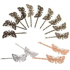 10x Retro DIY Hair Bobby Pins Grips Slides Hair Clips Accessories Dragonfly