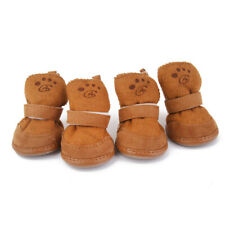 Pet Dog Puppy Winter Warm Shoes Cozy Anti-slip Boots Sneaker Booties Pick