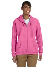 Gildan Hoodie Sweatshirt Hoody Ladies' 7.75oz Heavy Blend 50/50 Full-Zip G186FL