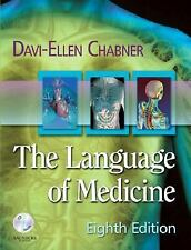 The Language of Medicine 8th ed. by Chabner (2007 PAPERBACK) CD Included