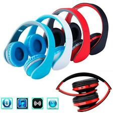 New Bluetooth Wireless Headset Stereo Headphone Headband Earphone Mic For iPhone