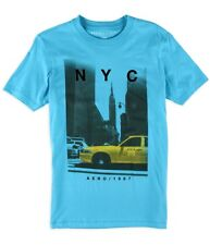 Aeropostale Mens NYC Taxi Graphic T-Shirt