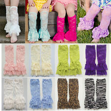 Baby Girls Lace Leg Warmers Thin Toddler Kid Summer Leggings Socks One Size 1-5T