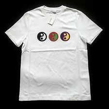NWT Gosha Rubchinskiy Men's White Yin Yang Print T-Shirt 2017 DS L XL AUTHENTIC