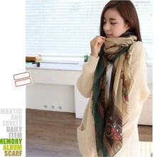 Women Lady Girls Soft Long Carriage Scarf  Shawl Scarves New Large Wrap