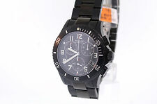 Men's Movado 0606066 Junior Sport Chronograph Black PVD Stainless Watch